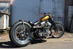 DRAG ON / Harley-Davidson 1976 FXE #biker #hd #japan