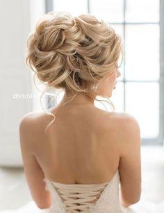 Vintage Hairstyles With Bangs Featured Hairstyle: Elstile; Elegant Wedding Hair, Short Wedding Hair, Wedding Hair And Makeup, Bridal Hair, Trendy Wedding, Wedding Hairstyles For Long Hair, Bride Hairstyles, Vintage Hairstyles, Hairstyle Wedding