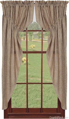 Star 'n Berries Prairie Curtain