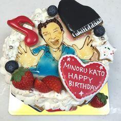 ピアニスト 加藤実さんのケーキ