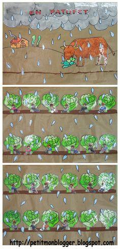PETIT MON: EN PATUFET A P3 Cartells