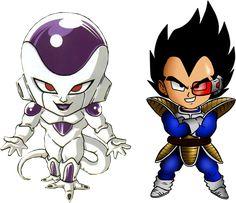 Freezer Vegeta (Dragon Ball Z) versión chibi
