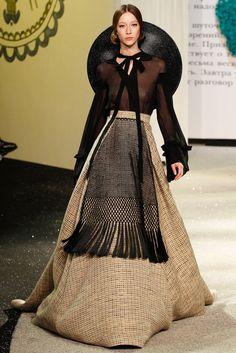 ulyana sergeenko haute couture s/s 2013 | visual optimism; fashion editorials, shows, campaigns & more!