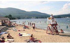 Million Dollar Beach at the southern end of Lake George. The DEC just announced extended hours for the beach, from to daily until Labor Day. Lake George Ny, Lake George Village, Best Vacations, Vacation Destinations, Vacation Ideas, Summer Vacation Spots, Fun Winter Activities, All I Ever Wanted, Lake Life