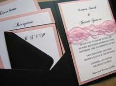 Elegant Wedding Invitation Romantic and Vintage by decadentdesigns, $3.75