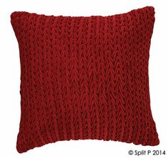 Split P Designs Velvet Pillow 18