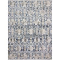 "7'11"" x 10'0"" Brooke Collection All Wool Transitional Style Handknotted Carpet"