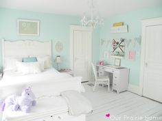 @ Our Prairie Home: Eva's Room {The Reveal}