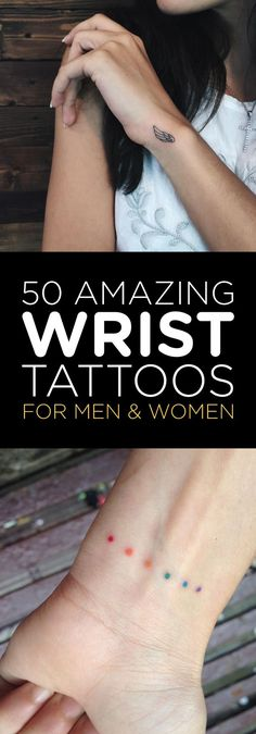 50 Amazing Wrist Tattoos For Men & Women