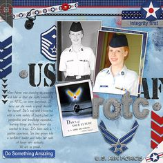 I Love Me Some Tronesia Templates and Font by Darcy Baldwin US Armed Forces Air Force by Heather Roselli