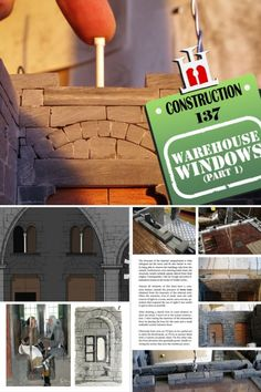 Warehouse, Window Parts, Construction Materials, Projects, Log Projects, Blue Prints, Magazine, Barn, Storage
