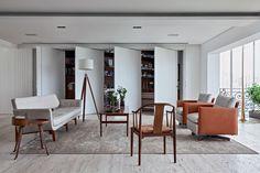 Reforma de apartamento, assinada por Thiago Bernardes (Foto: Ruy Teixeira)