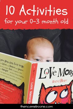 Can you play with your newborn? Of course you can! Here are 10 fun learning activities to keep your 0-3 month old entertained!