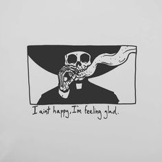 "20.2 mil Me gusta, 172 comentarios - Matt Bailey (@baileyillustration) en Instagram: ""I aint happy, I'm feeling glad."""