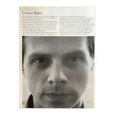 Actor Cristian Balint pictured by Romanian photographer Cosmin Bumbut for Tabu magazine, October 2007. Editorial: Cristina Bazavan. Styling: Ana Maria Cornea