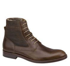 Clayton Shearling Boot - Johnston & Murphy