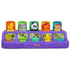 PlaySkool Poppin' Pals - this is one of maybe four (at most) toys I would actually buy for the baby.  Simple and fun.