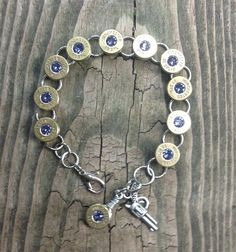 Winchester 38 Special Bullet Bracelet Tanzanite on Etsy, $35.00