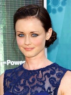 Alexis Bledel automatically came to mind to play Ana in Fifty Shades. I have an obsession...