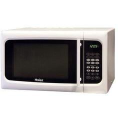 Haier MWM0925TW 0.9 Cubic Foot 900-Watt Touch Microwave  White: http://www.amazon.com/Haier-MWM0925TW-Cubic-900-Watt-Microwave/dp/B003GF316Q/?tag=headisstrandh-20