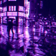 Stream Anko - Soupir by from desktop or your mobile device Violet Aesthetic, Dark Purple Aesthetic, Lavender Aesthetic, Night Aesthetic, Aesthetic Colors, Aesthetic Pictures, Black And Purple Wallpaper, Purple Wallpaper Iphone, Purple City