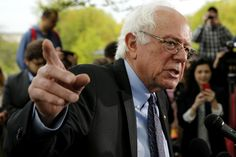 U.S. Senator Bernie Sanders (I-VT) holds a news conference after he announced his candidacy for the 2016 Democratic presidential nomination, on Capitol Hill in Washington on April 30, 2015. (Photo by Jonathan Ernst/Reuters)