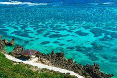 Miyako island in Okinawa, Japan.