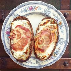 Geitenkaas & Pancetta broodjes