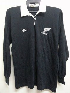 286084fd Sale Vintage 1990s Canterburry All Blacks New by SuzzaneVintage All Blacks,  1990s, Adidas Jacket