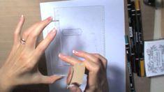 Scrapbooking tutorial:Posizionatore timbri:cos'è?come si usa?idea alternativa all'originale - YouTube