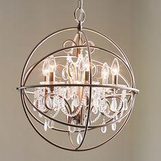 Shop Kichler Lighting 6-Light Brushed Nickel Chandelier at Lowes.com