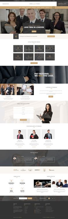 Justice - new PSD template for Advocate, Barrister, Attorney, Law - law firm brochure