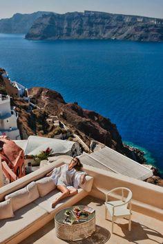 #Santorini #greece #peaceful #view