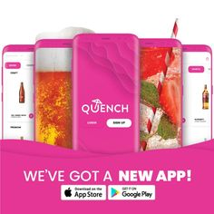 Quench (@Quench_app) on Twitter App Store Google Play, Red Fruit, Cold Drinks, Content, Make It Yourself, Twitter, Cool Drinks