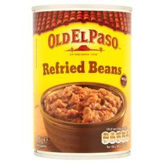 Old El Paso mild refried beans for tamale pie