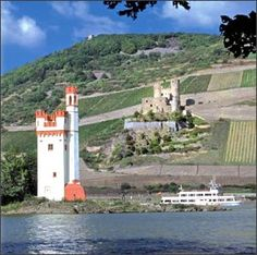 The Mouse Tower (Mäuseturm) is a stone tower on a small island in the Rhine, outside Bingen am Rhein, Germany.