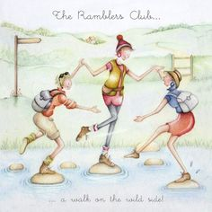 Cards » The Ramblers Club » The Ramblers Club - Berni Parker Designs