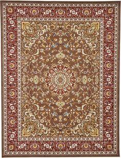 Isfahan Brown Area Rug