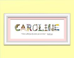 Personalized baby girl gift nursery name by thechristianalphabet personalized baby girl gift nursery name by thechristianalphabet matted only print 2995 baby gifts pinterest baby wall art baby dedication and negle Choice Image