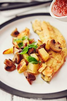 Filety z dorsza bałtyckiego smażone w curry