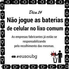 Os componentes dessas baterias representam um grave problema ambiental. Atualmente existem locais que recolhem esses materiais e dão um destino adequado. Procure o mais perto de você e faça a sua parte! #eusoubg #baiadeguanabara #guanabara #guanabarabay #riodejaneiro #errejota #analisedeagua #labhidroufrj #ufrj #pilhas #baterias