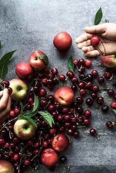 Cherry Muffins - Cook Republic