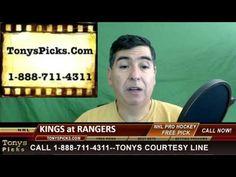 LA Kings versus New York Rangers Pick Prediction NHL Pro Hockey Odds Pre...