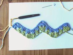 Hekel Idees: Hekel Tutoriaal: Granny Ripple Patroon Afrikaans, Free Crochet, Free Pattern, Crochet Necklace, Crochet Things, Crochet Collar, Crochet Granny, Sewing Patterns Free