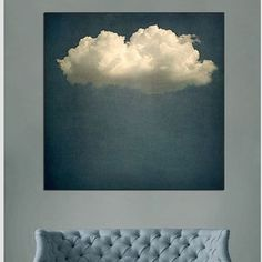 Salon sous nuage living cloud art. We would love this. #art #artwork #onemustdash | mymeedia -- your digital media stage