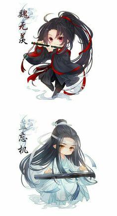 xi- cheng grandmaster of demonic cultivation Chibi Boy, Kawaii Chibi, Cute Chibi, Anime Chibi, Manga Anime, Shounen Ai Anime, Chinese Cartoon, Dibujos Cute, Manga Characters