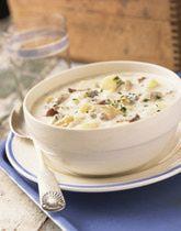 Homemade Potato Soup... All I can think about is potato soup