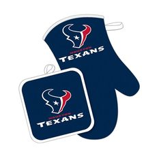 Blue Small PSG NFL Houston Texans Houston Texans Earrings Glitter Heart