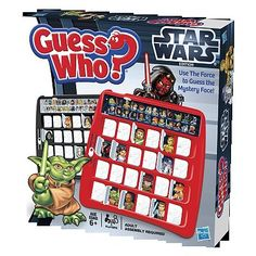 Star Wars Guess Who Game by Hasbro