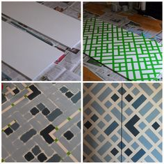 Customizing ikea dombas cabinets http://thinkmakedolearn.blogspot.com/2013/12/ikea-dombas-transformation.html